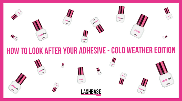 How to Look After Your Adhesive - Cold Weather Edition