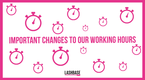 Important Changes To Our Working Hours