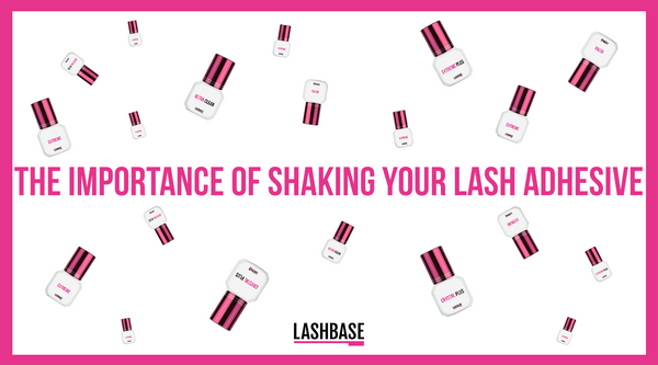 The Importance of Shaking Your Lash Adhesive