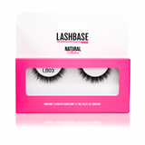 LB03 Natural Strip Lashes - LashBase Limited