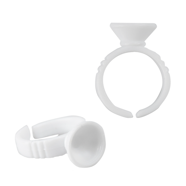 Glue Rings – Single Dish - LashBase Limited