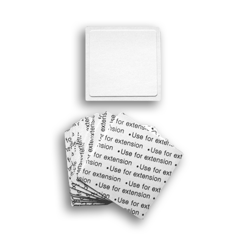 Square Adhesive Stickers (Pack Of 10) - LashBase Limited