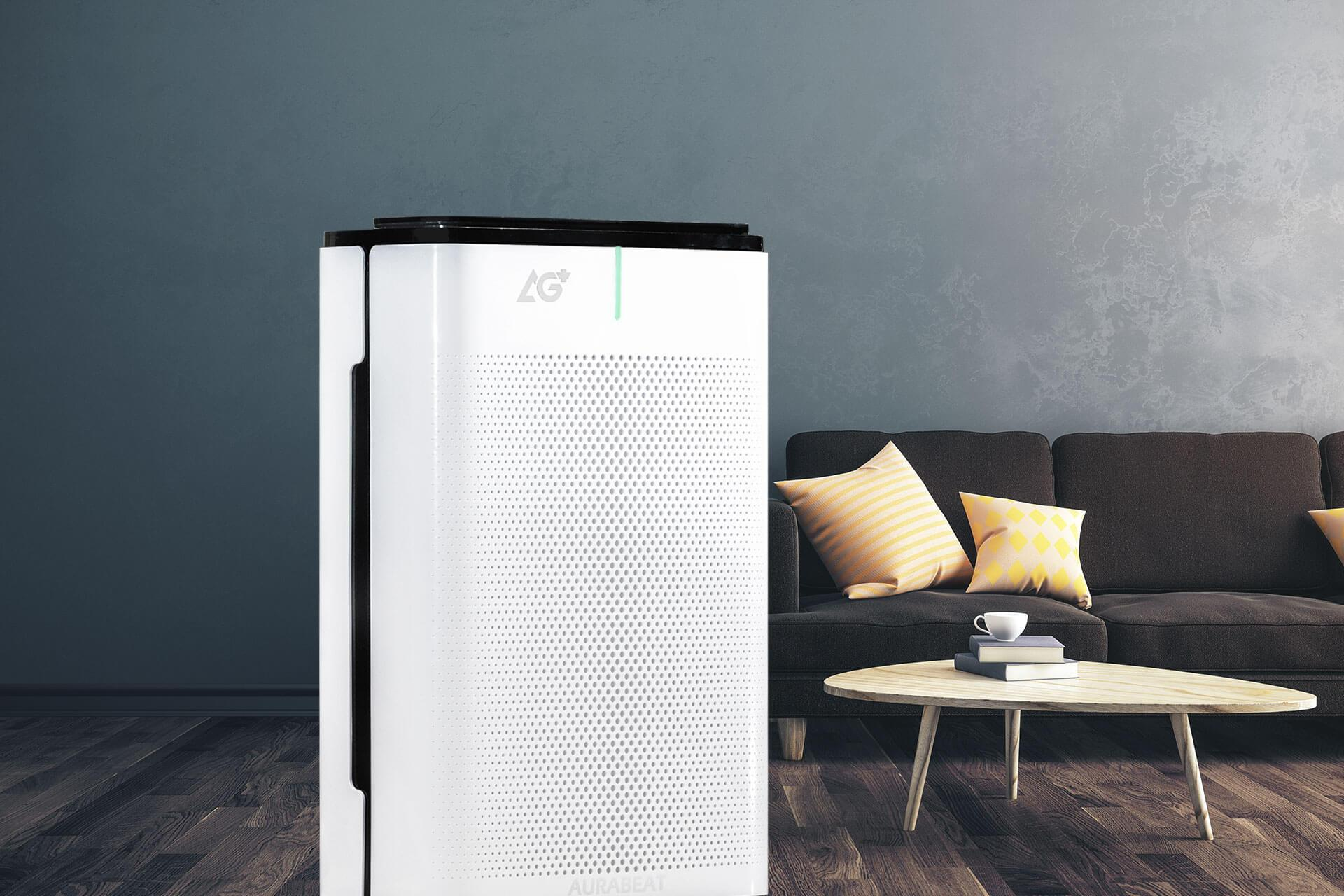 Aurabeat AG+ air purifier can eliminate >99.9% of covid-19 in 30 minutes