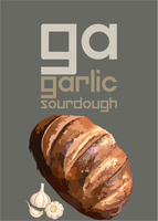 Garlic Oval