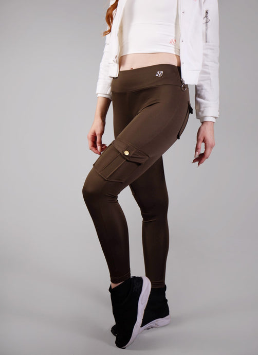 Buddy Cargo Leggings/Green