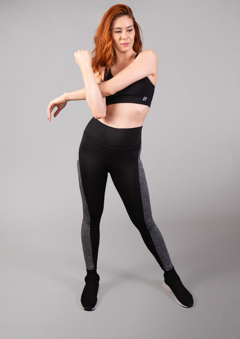 Paneled Activewear Legging