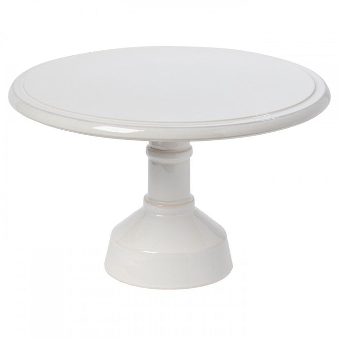 Casafina Footed Cake Plate - White 33cm