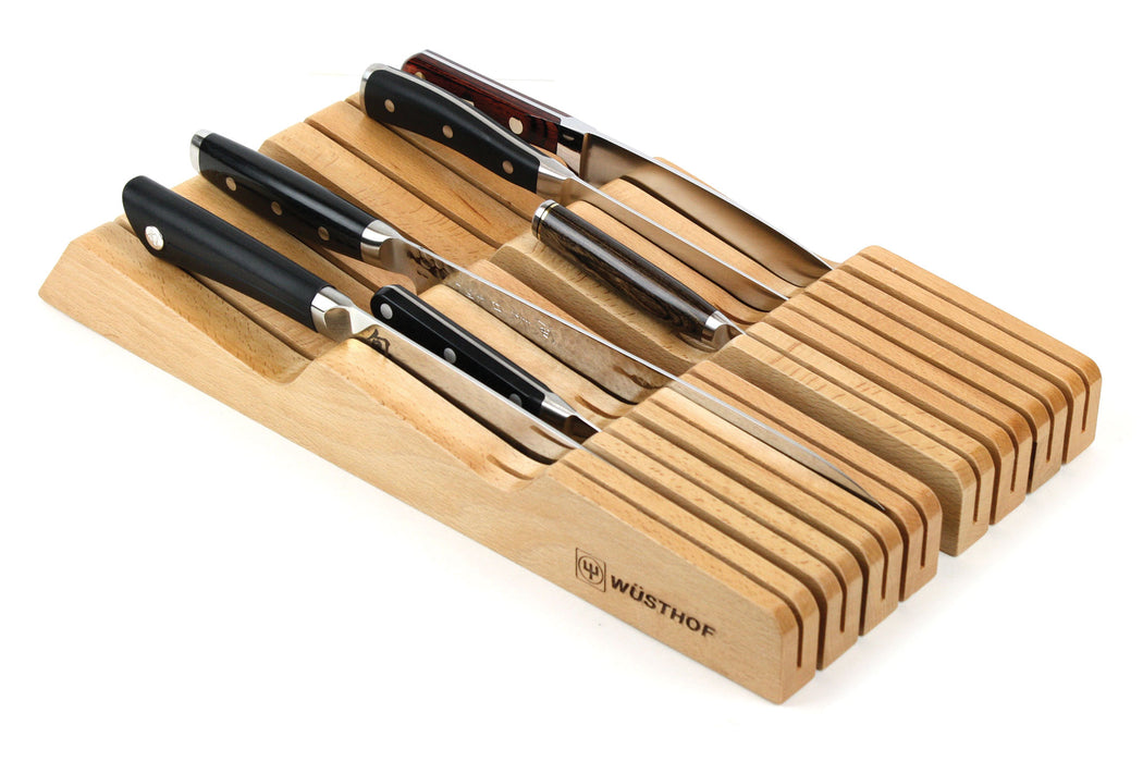 Wüsthof In-Drawer Slotted Knife Tray - 14 Slot