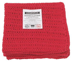 Homespun Crochet Dishcloth - Cookery
