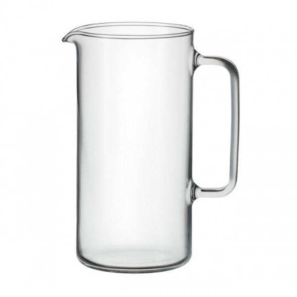 Glass Cylinder Jug - Cookery