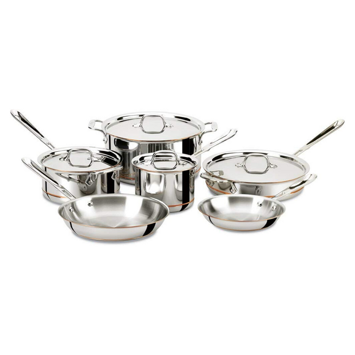 All-Clad Copper Core® Cookware 10 Piece Set