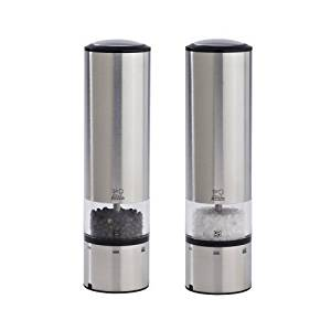Peugeot Elis Duo Sense Brushed Stainless Steel Salt & Pepper Mill