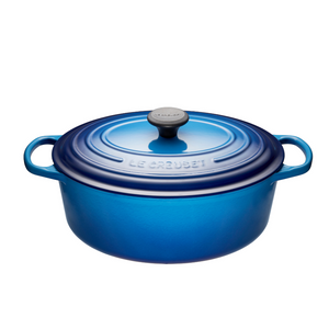 4.7L Oval French Oven - Blueberry
