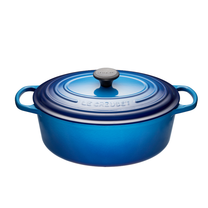 Le Creuset 4.7L Oval French Oven - Blueberry