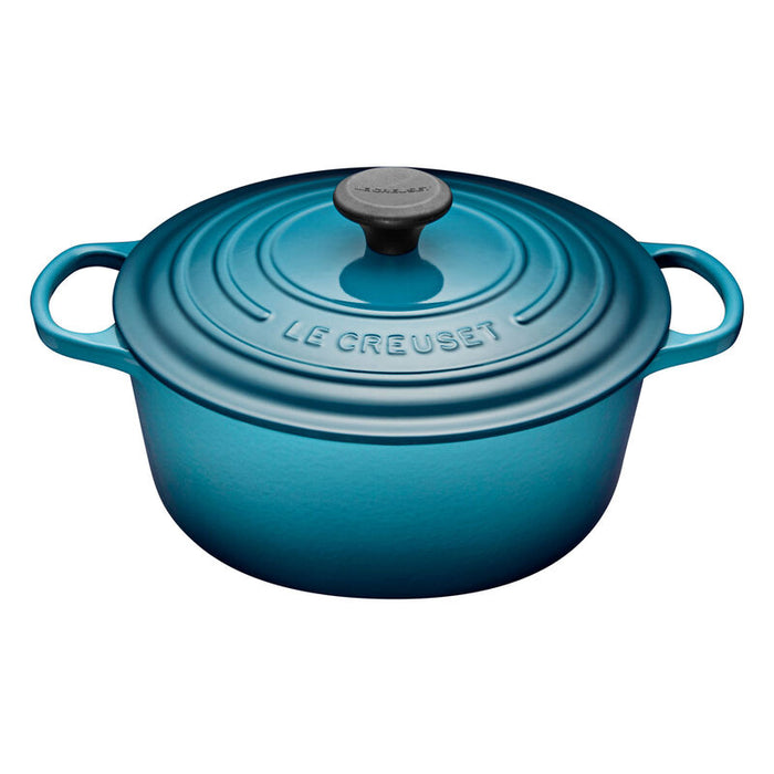 Le Creuset 5.3L Signature Round French Oven -  Teal