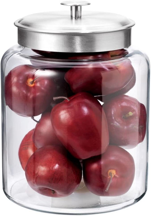 Montana Glass Jar with Fresh Seal Lid - 2 gallon / 8L