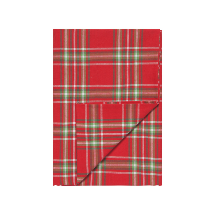 NOW Designs Holiday Tablecloth - Noel Plaid