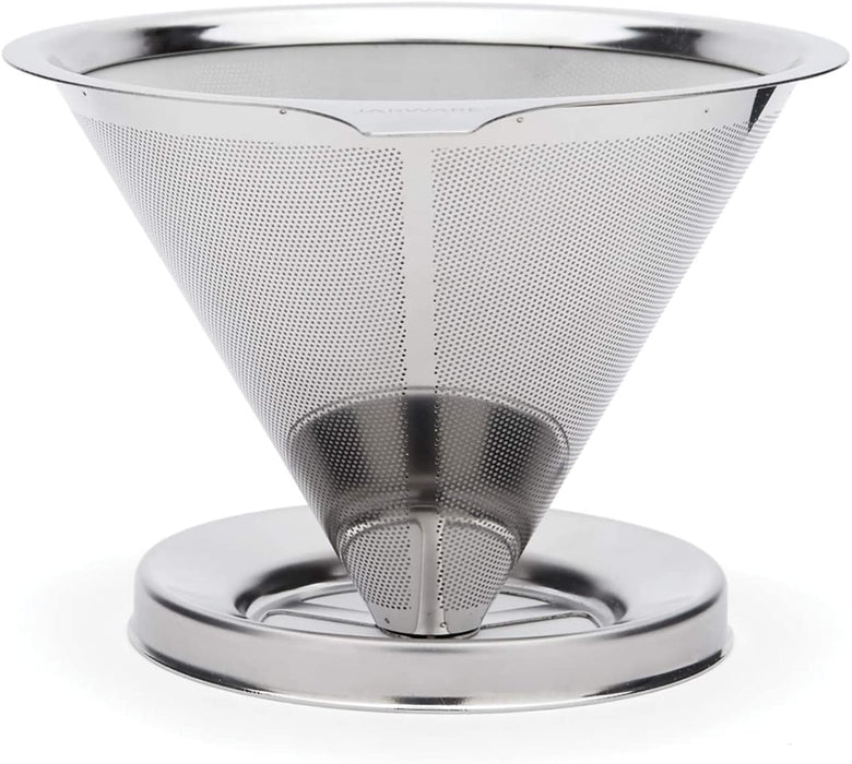 Jarware Stainless Steel Pour Over Coffee Drip Filter