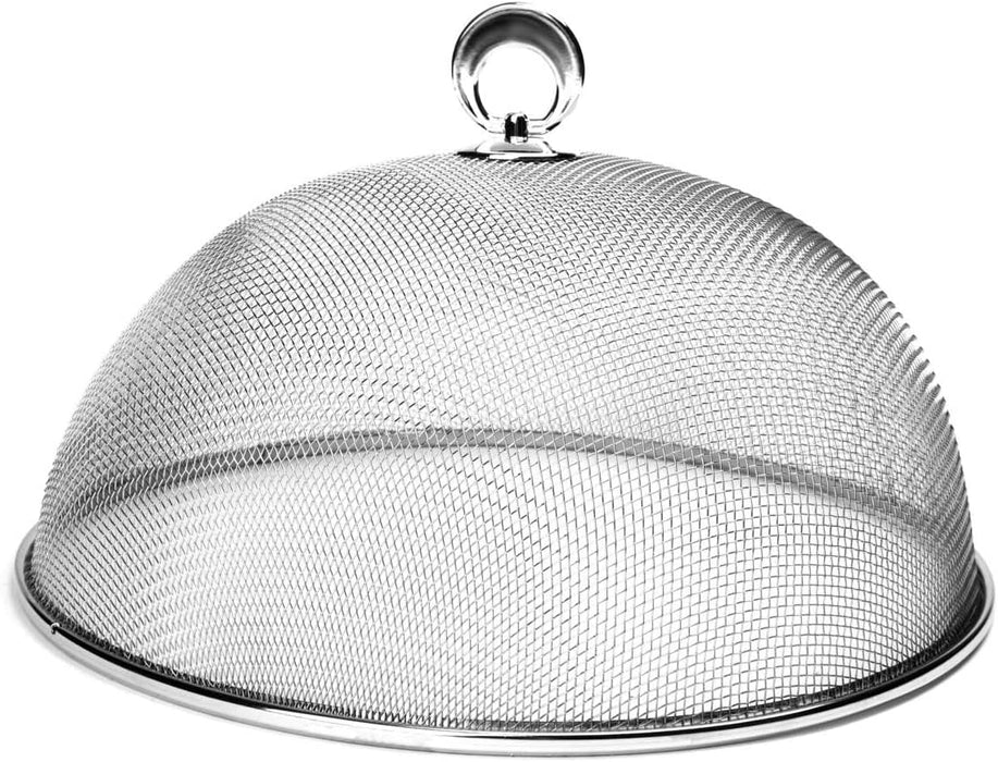 Chrome Mesh Food Cover