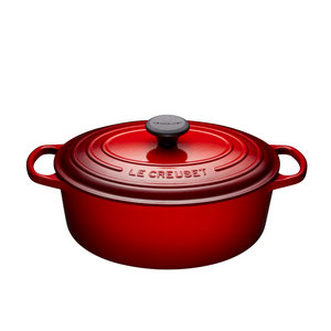 Le Creuset 4.7L Oval French Oven - Cerise