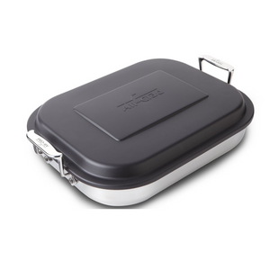 All-Clad d3 Stainless Steel Lasagna Pan with Lid