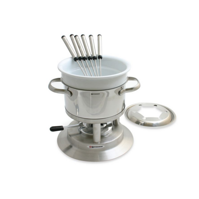 Arosa Stainless Steel Fondue Set