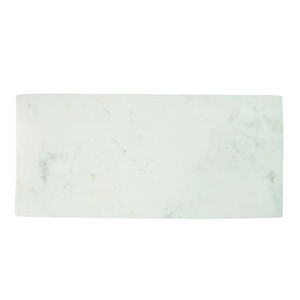 Be Home White Marble Rectangular Board