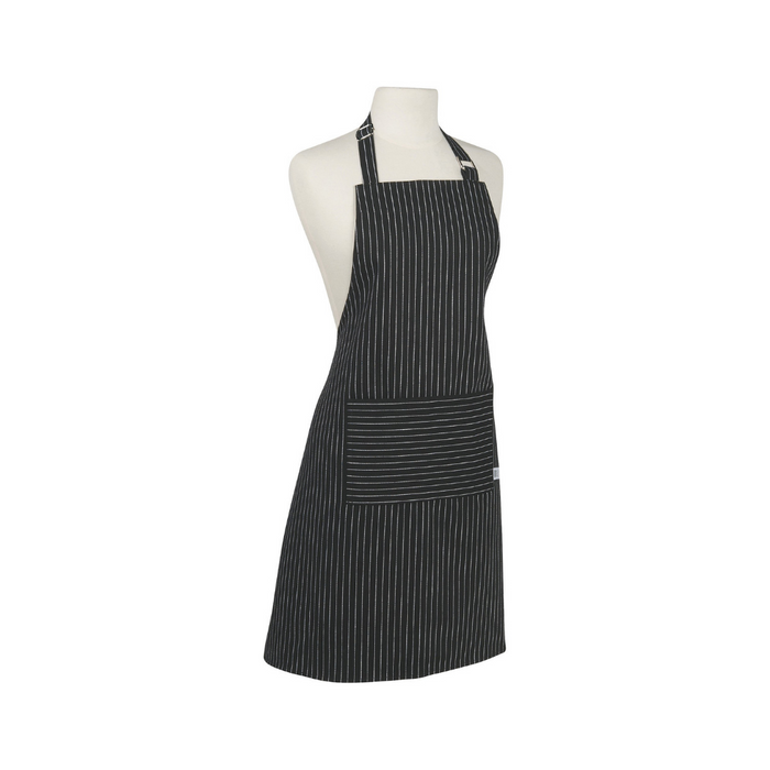 NOW Designs Black Pinstripe Apron