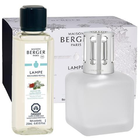 Maison Berger Festive Fir Ice Cube Lamp Gift Set