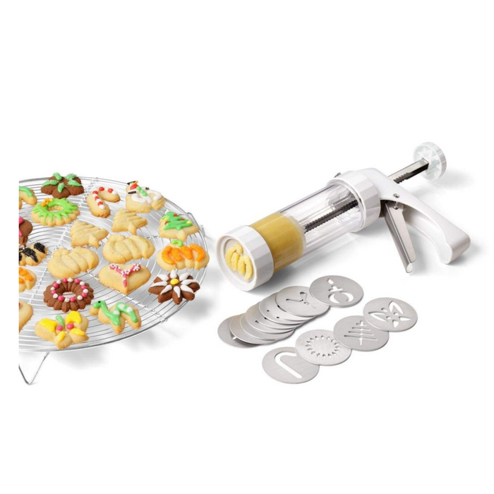 Kuhn Rikon Cookie Press with Decorating Tips