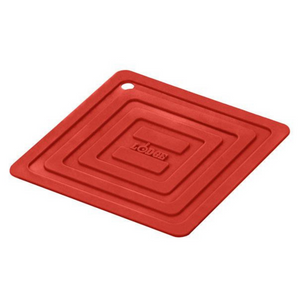 Lodge Red Silicone Square Pot Holder