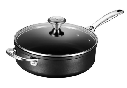 Le Creuset Toughened Nonstick Sauté Pan with Lid - 26cm/4L