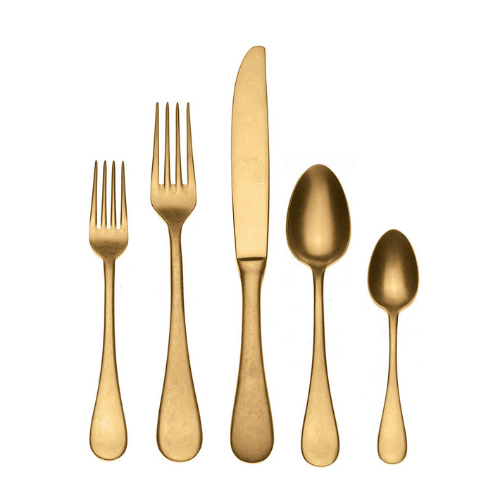 Mepra Vintage Oro 5 Piece Place Setting