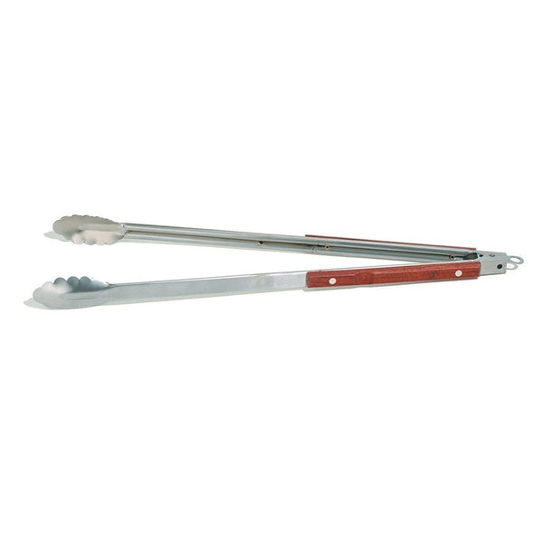 Outset Rosewood Extra Long BBQ Tongs