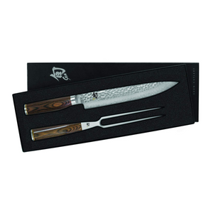 Shun Premier 2 Piece Carving Knife Set