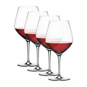 Spiegelau Authentis Burgundy Glass Set of 4