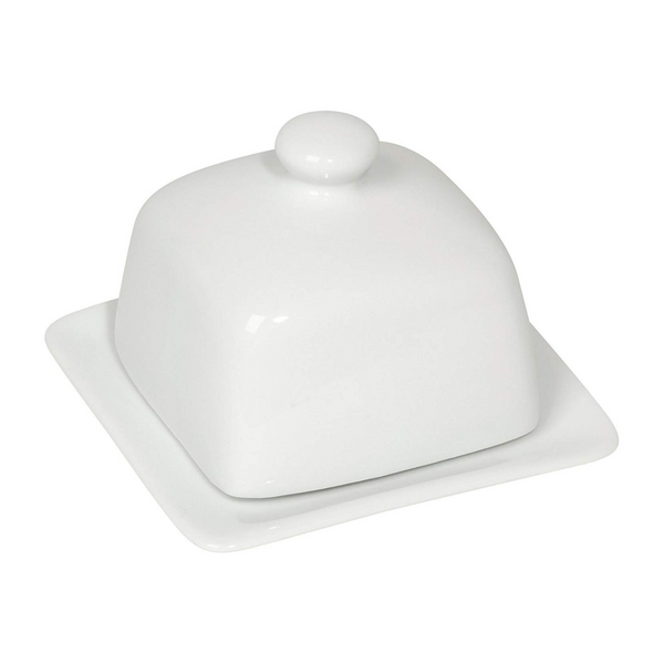 NOW Designs Square Stoneware Butter Dish