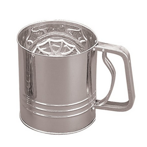 Stainless Steel Flour Sifter (4 Cup)