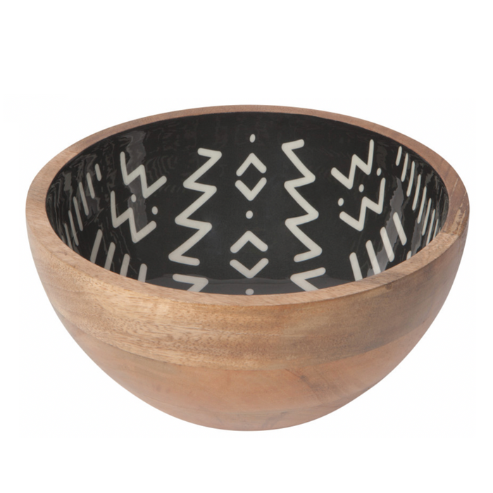Now Designs Ziggy Mango Wood Serving Bowl