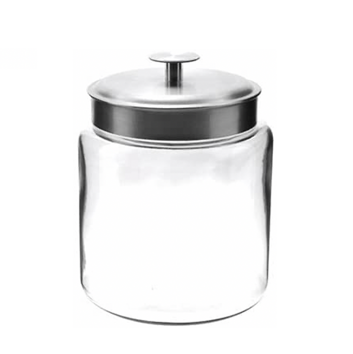 Small Montana Glass Jar with Fresh Seal Lid