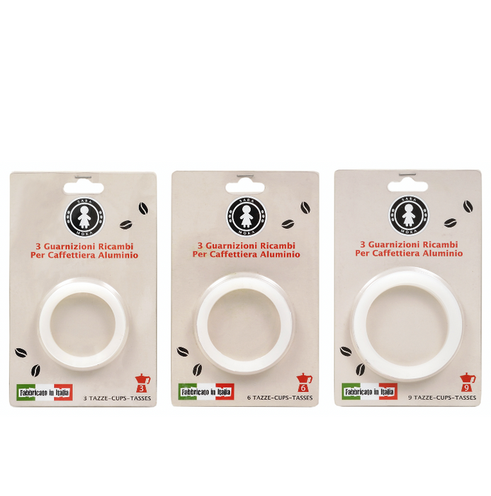 Sara Stovetop Espresso Replacement Washers