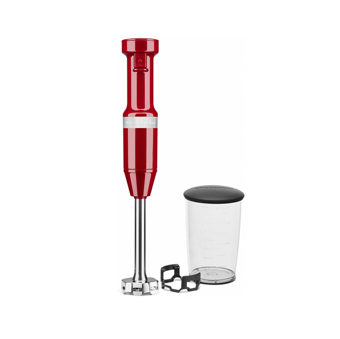 KitchenAid Variable Speed Corded Hand Blender - Electric Red