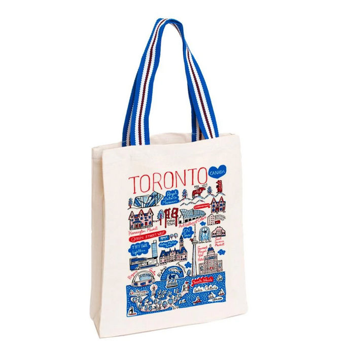 Toronto Canvas Tote Bag