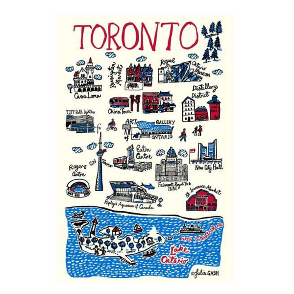 Toronto Tea Towel