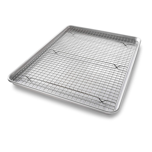 USA Pan Sheet Pan with Cooling Rack