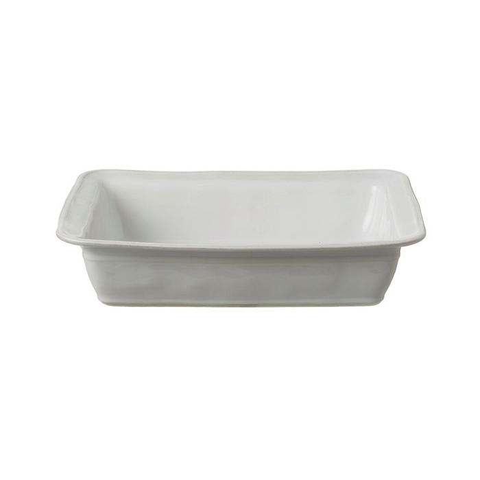 Casafina Fontana Large Rectangular Baking Dish - White