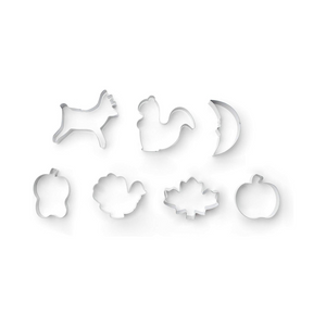 Fox Run Autumn 7-Piece Cookie Cutter Set