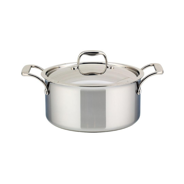 Meyer SuperSteel Tri-Ply Clad Covered Dutch Oven - 5L