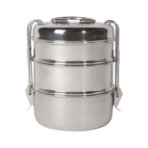 NOW Designs Tiffin Simply Steel Food Container