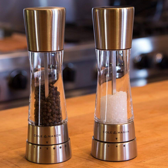Derwent Cole & Mason Salt and Pepper Mill Gift Set
